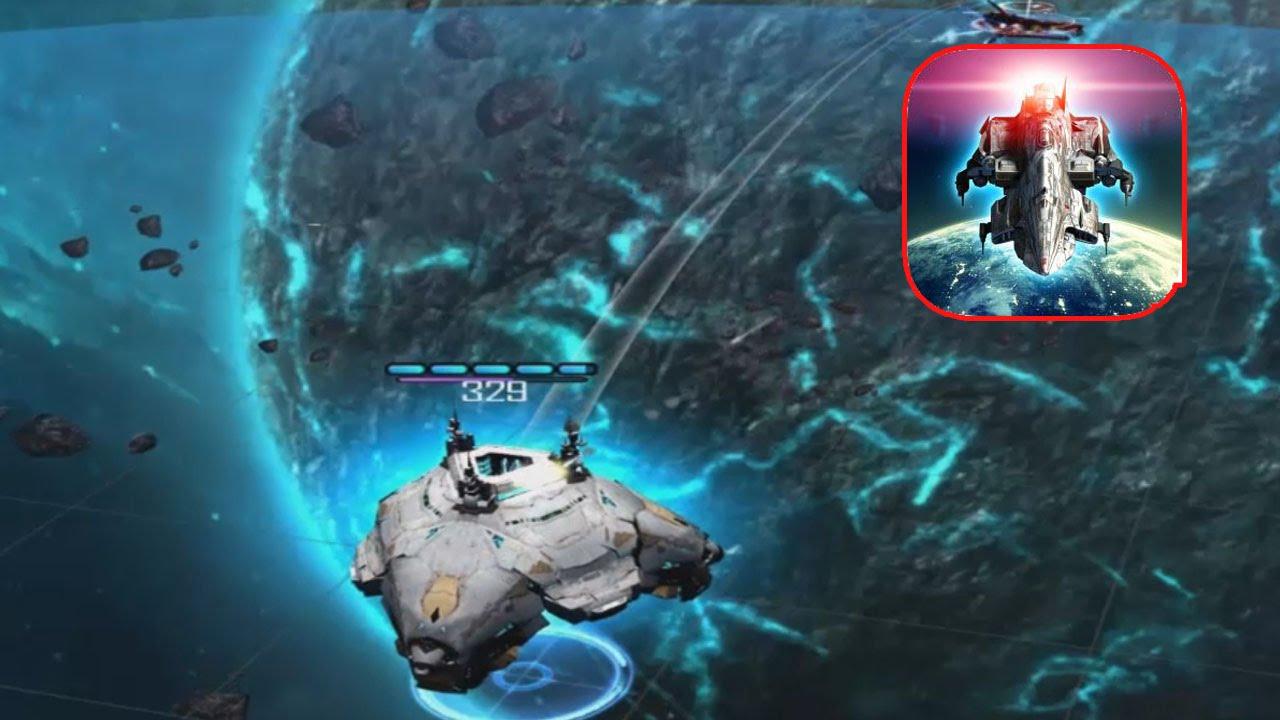 galaxy reavers- sliding starships, tactical space rts: gameplay #3 titan