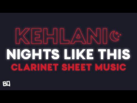 Nights Like This - Kehlani (Clarinet Sheet Music)