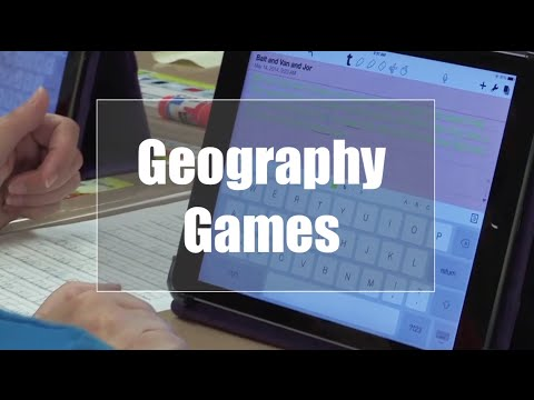 Tech EDGE, Mobile Learning In The Classroom - Episode 09, Geography Games