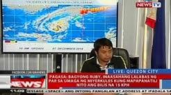 NTVL: Press briefing ng PAGASA kaugnay ng bagyong Ruby