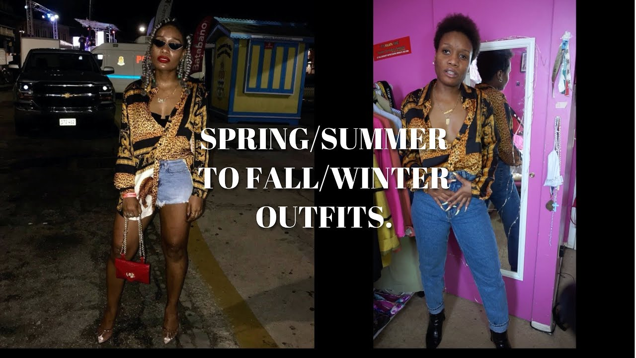 [VIDEO] - How to style Spring/Summer outfits for the Fall/Winter LOOKBOOK 4