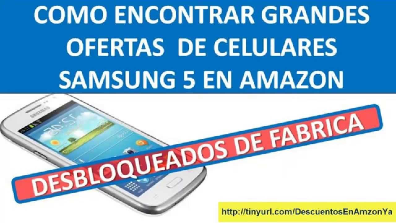 Como Encontrar Y Comprar Un Celular Samsung 5 Galaxy Con ...