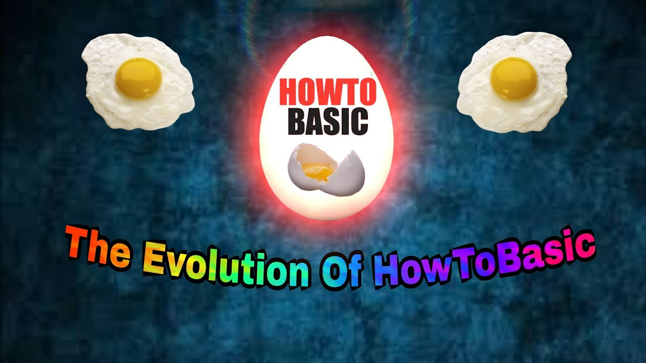 The Evolution of HowToBasic 2011 - 2017