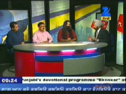 Khabarsar on *Citizen Activism* : Zee Punjabi TV Talk Show : Part III