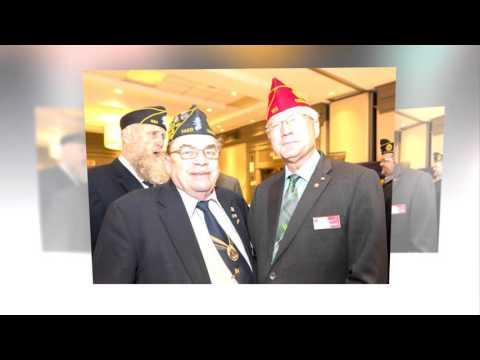 American Legion National Commander Dale Barnett Visit to Saratoga Springs NY