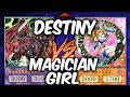 Yugioh DESTINY HEROES vs MAGICIAN GIRLS (YU-GI-OH! Competitive Decks)
