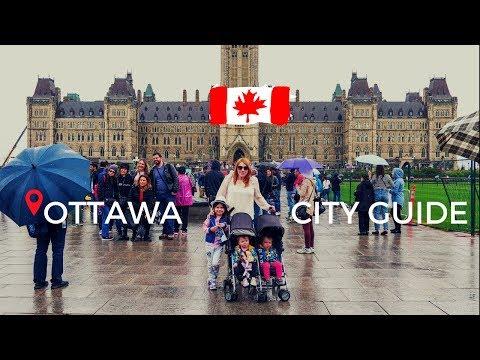 Ottawa City Guide: Parliament Hill, ByWard Market and CF Rideau Centre Mall
