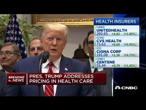 Trump announces executive order requiring health care pricing transparency thumbnail