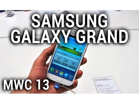 Samsung Galaxy Grand, prise en main au MWC 2013 - par Test-Mobile.fr