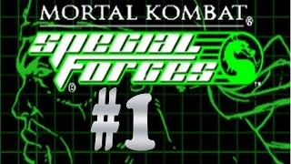 Mortal Kombat - Special Forces :: PSOne :: Прохождение :: #1