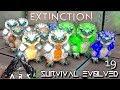 ARK: EXTINCTION - SNOW OWL MUTATIONS BREEDING BABY SO CUTE !!!   ARK SURVIVAL EVOLVED E19