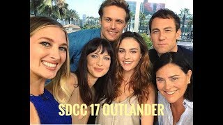 Outlander talks to Leanne Aguilera of Entertainment Tonight San Diego