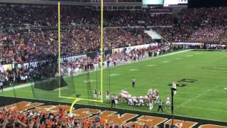 Clemson final touchdown pass in the 2017 National Championship Game