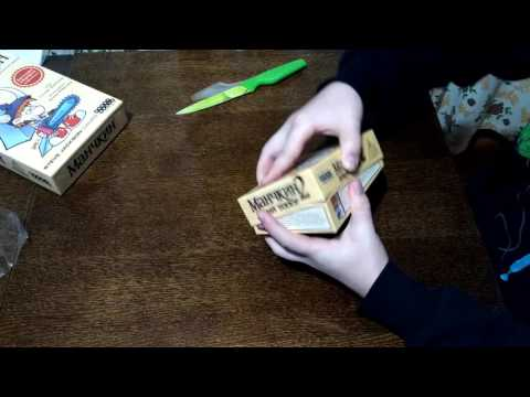 Розпаковка Манчкин 2 Дикий топор