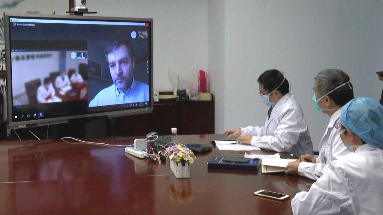 Positive Vibes|China, Italy doctors share experiences of COVID-19 control via teleconference