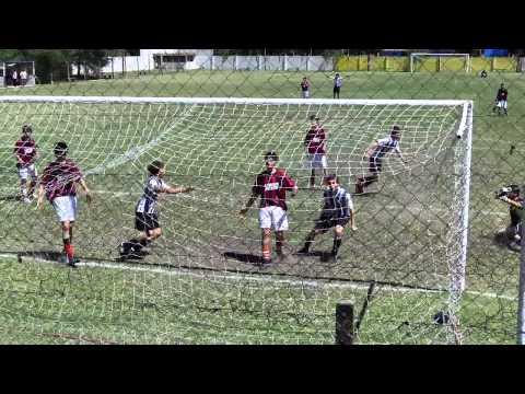 gol de Pedro Marelli a San Miguel en 5ª división liga lobense - 1 a 1 - 2010/12/04