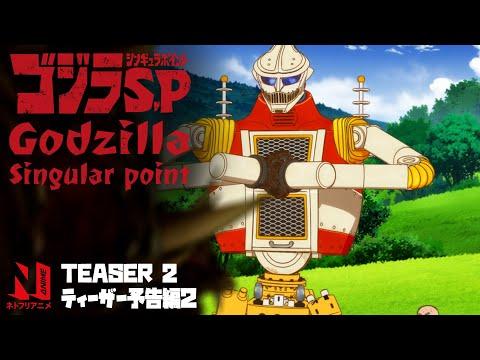Godzilla: Singular Point - Netflix libera teaser inédito