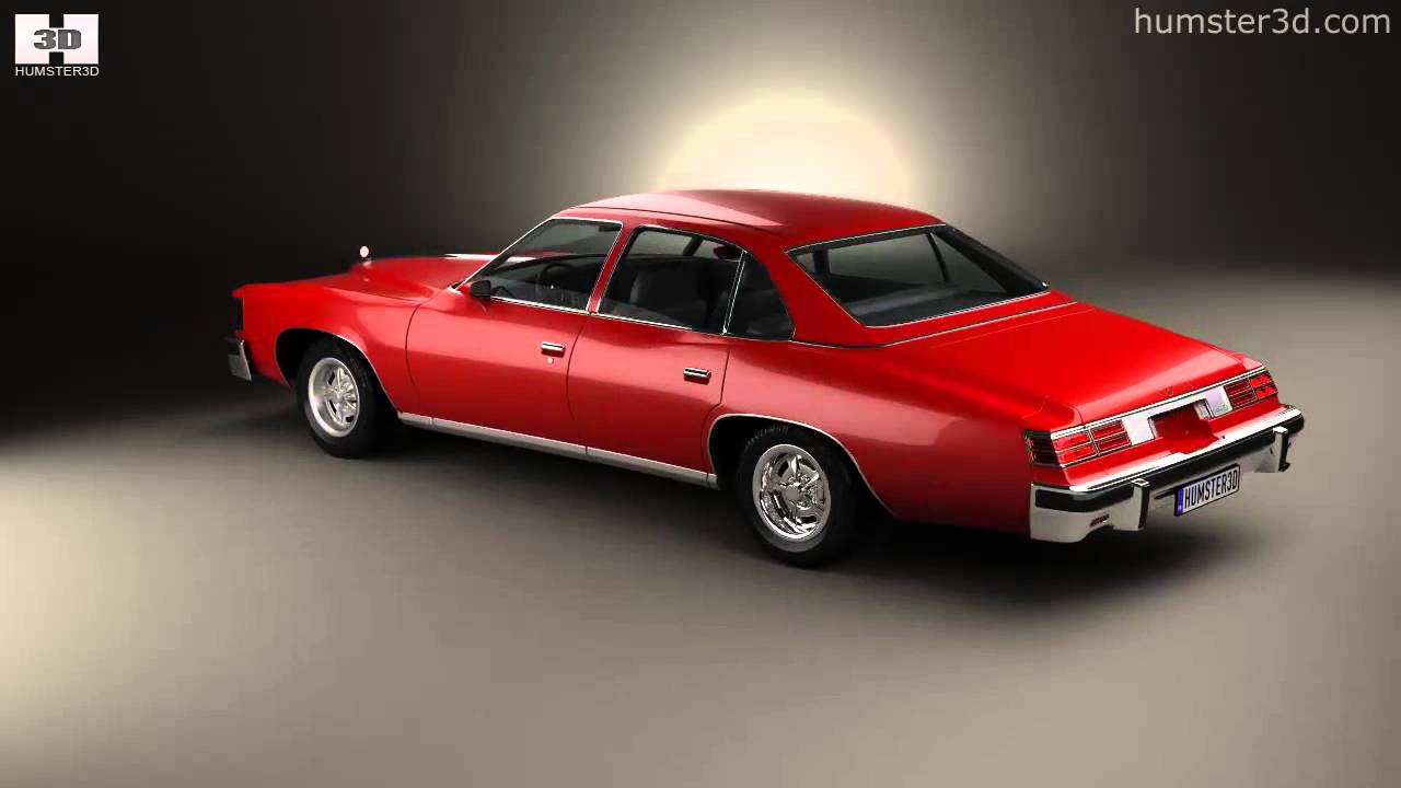 Pontiac Grand Lemans Sedan 1976 By 3d Model Store