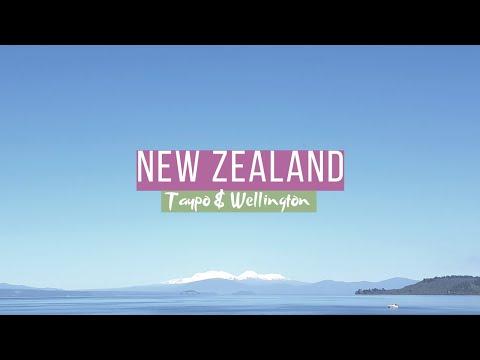 Admiring The Beautiful Lake Taupo And Driving Around Wellington City New Zealand || NZ VLOG