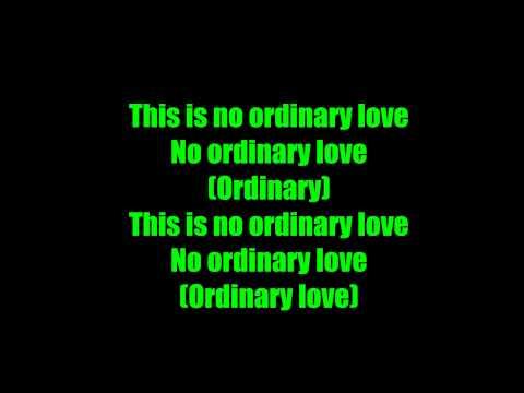 Deftones - No Ordinary Love - Lyrics
