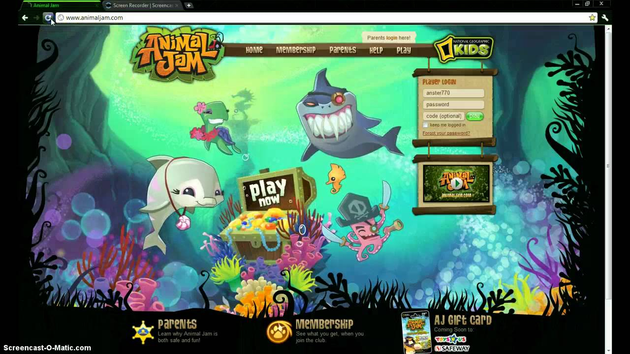 Animal jam home page background changing youtube - Animal jam desktop backgrounds ...