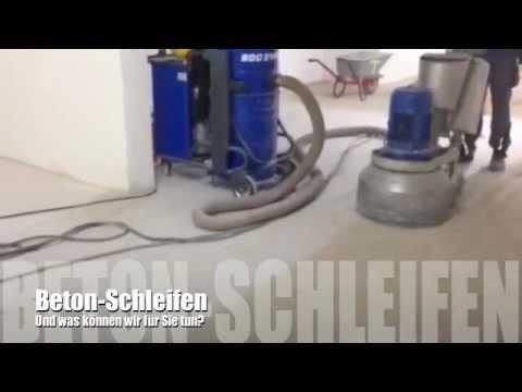 Beton Fußboden Abschleifen ~ Beton schleifen youtube