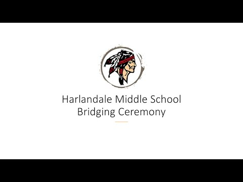 2020 Harlandale Middle School 8th Grade Bridging Ceremony