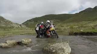 MOTOS TRAIL MURCIA PICOS EUROPA  BMW F800 GS ADVENTURE OFF ROAD KTM 990