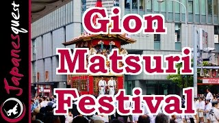 Gion Matsuri Festival in Kyoto! | Video Japan Guide(Gion Matsuri festival is one of the most prominent festivals in Japan, and the best summer tradition in Kyoto. The festival is held throughout July. Gion Matsuri ..., 2014-08-04T09:37:11.000Z)