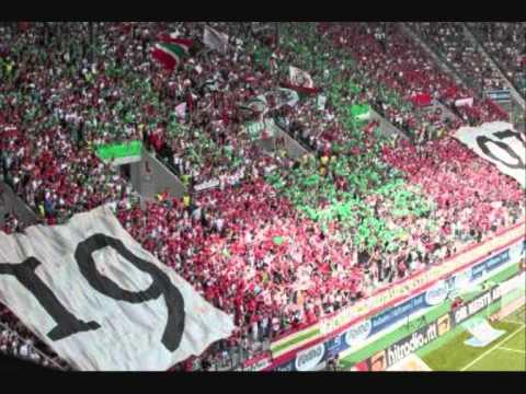 FC Augsburg Hymne - Rot, Grün, Weiß