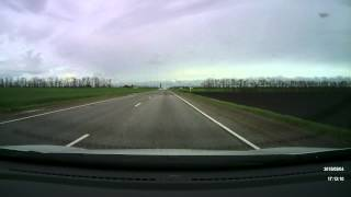 ДТП 04.05.2015 Перед поворотом на Кропоткин из Краснодар 11 км до развязки.