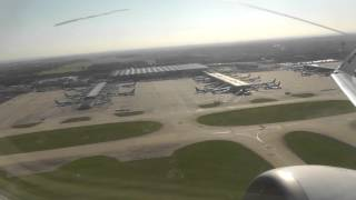 USAF Boeing E4B Doomsday !!  Ryanair 737 take off London Stansted