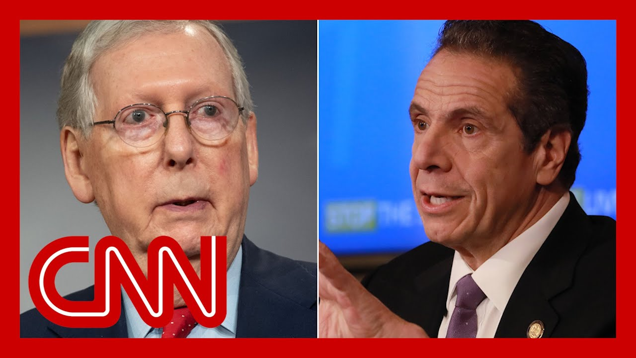 Gov. Cuomo slams McConnell: New York bails you out