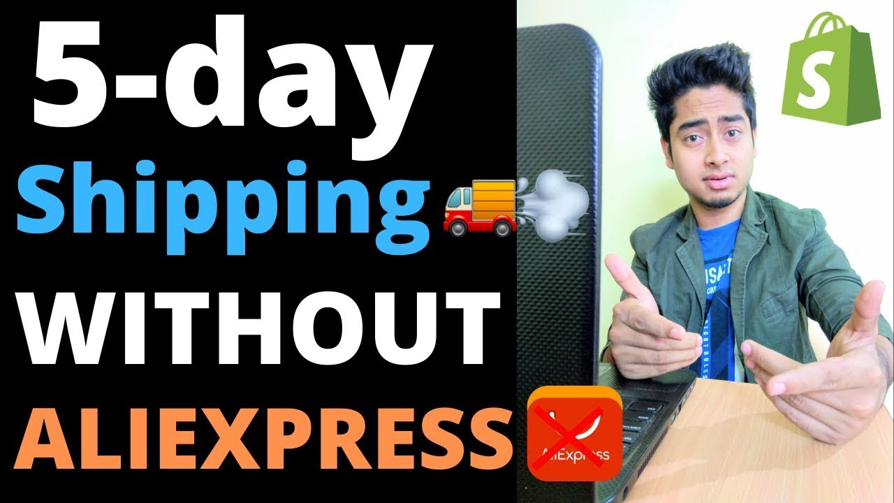 LONG SHIPPING TIMES DROPSHIPPING | how i ship within 5 days without aliexpress(Secrete method)