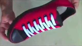 видео Способы завязывания шнурков. Как научить малыша завязывать шнурки самостоятельно.