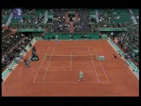 Novak Djokovic vs Robby Ginepri - Roland Garros 2010