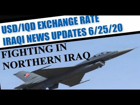 Iraqi News Updates USD/IQD Exchange Rate Tax Trivia