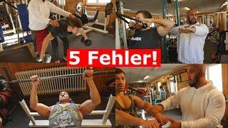 5 Anfänger-FEHLER im Training!