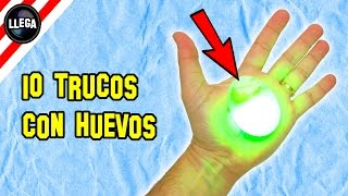 10 Trucos Con Huevos Que No Conocías - Experimentos Caseros - LlegaExperimentos thumbnail