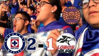 INVICTOS EN EL AZTECA!!! / Cruz Azul 2 vs 1 Lobos BUAP / REACCIÓN