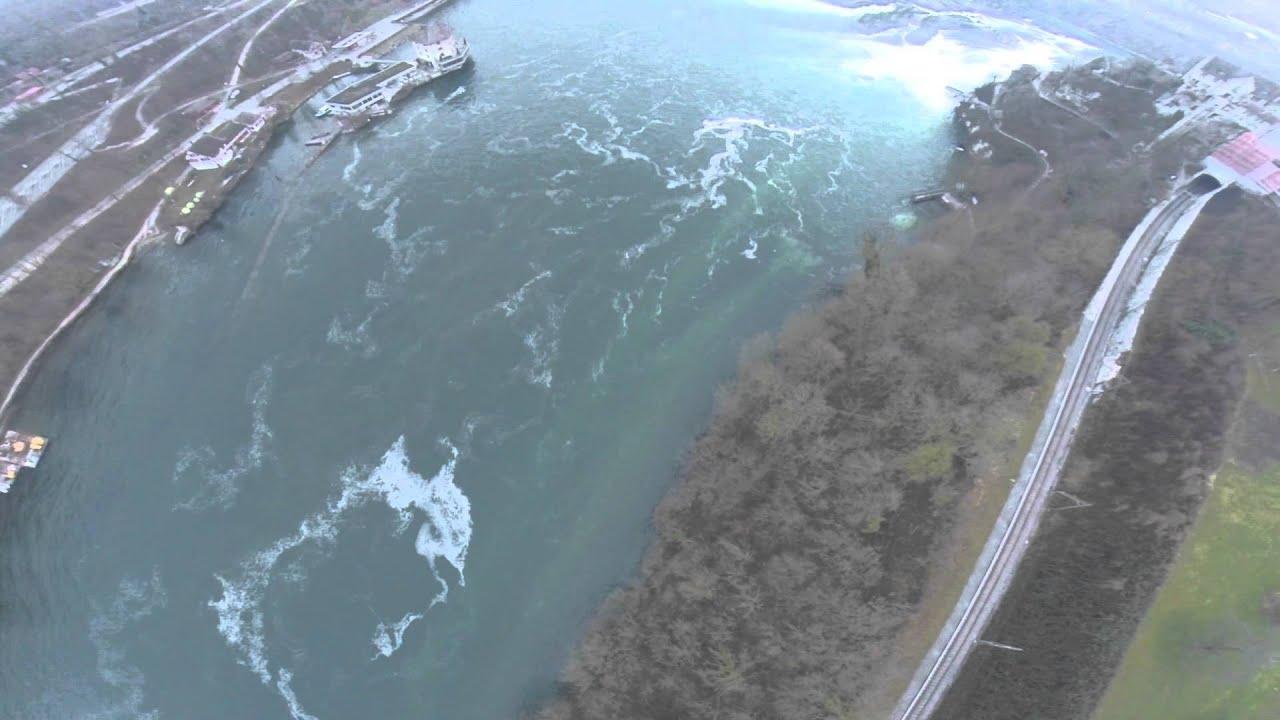 Rheinfall / Waterfall / Copter / Drohne / DJI / Air