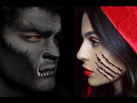 halloween makeup little red riding hood teni panosian
