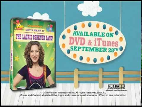 Let's Hear it for the Laurie Berkner Band: Nick Jr. Commercial
