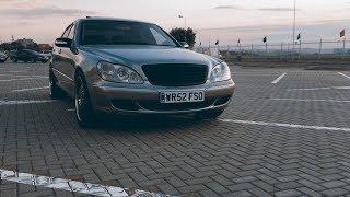 Когда цена S-класса вызывает сомнения.Mercedes W220 320CDI. #W220