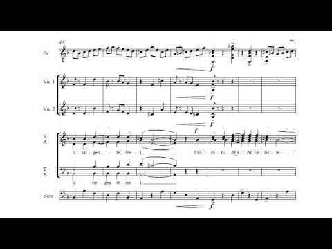 La Llorona - Three Mexican Folk Songs for SATB Chorus by David Conte
