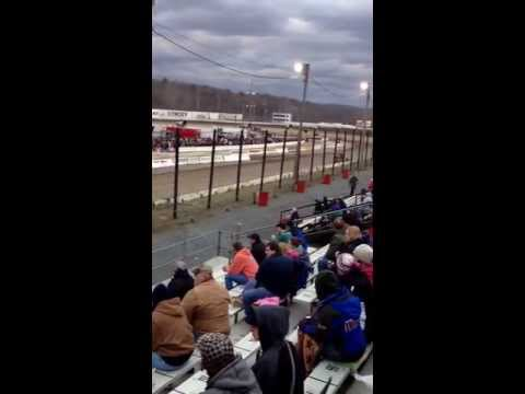 Kenny tremont 115 big block modifieds at Lebanon valley speedway opening night hot laps