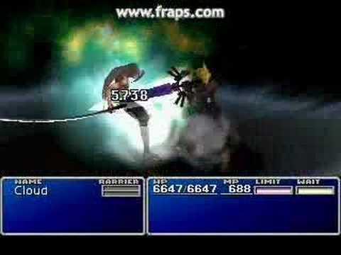 Final Fantasy 7 Cloud Vs Sephiroth
