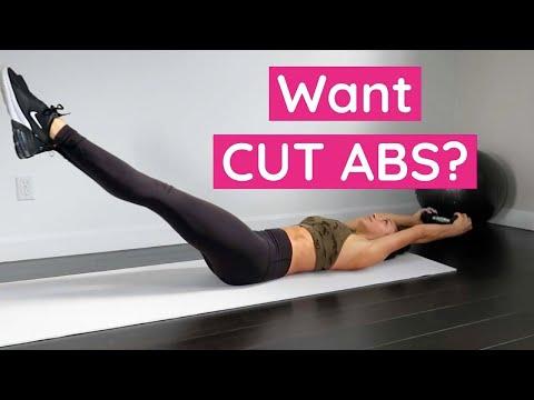 5 Minute ABS At Home (Workout Tutorial) // TessaRenéeTR thumbnail