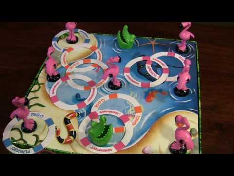 【桌遊】Ring-O FLamingo 好玩的紅鶴套圈圈 @ 暖暖媽的部落格 :: 痞客邦