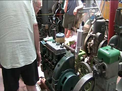 3 cylinder Lister Diesel air cooled